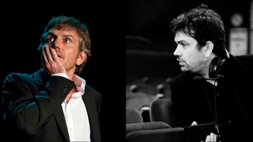 Depuis trois ans, Fabrice Roux produit le spectacle d'Olivier Sauton «Fabrice Luchini et moi».