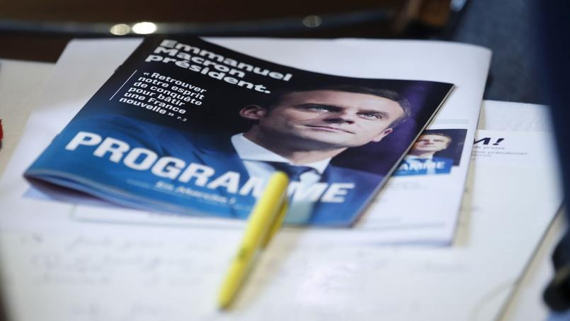 Programme du candidat d'En Marche!