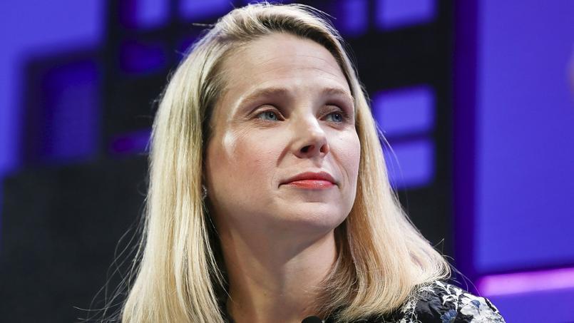 Marissa Mayer, la présidente de Yahoo!, le 4 octobre 2016.