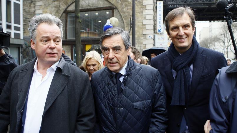 Les supporteurs de François Fillon se sont mobilisés, jeudi à Nîmes.