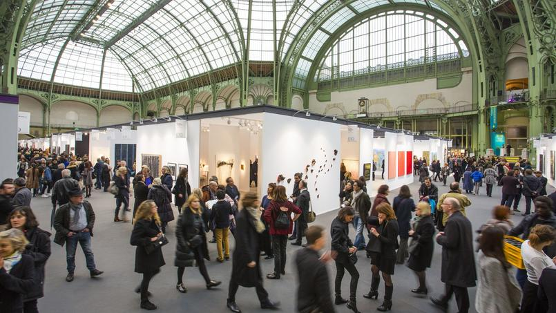 Art Paris Art Fair sous la nef du Grand Palais (Paris VIIIe).