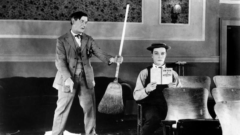 Sherlock Jr avec Ford West, Buster Keaton, 1924.