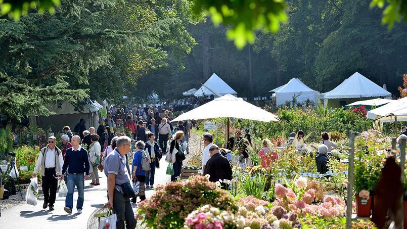 La Fête des plantes de printemps de Saint-Jean-de-Beauregard accueille chaque année des milliers de visiteurs.