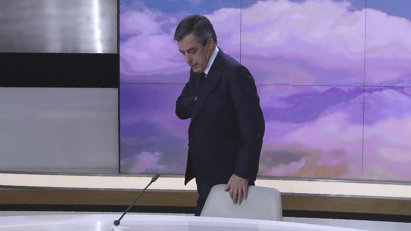 François Fillon sur le plateau du 20h de France 2 dimanche soir. «Je ne suis pas autiste, a-t-il répété à plusieurs reprises.