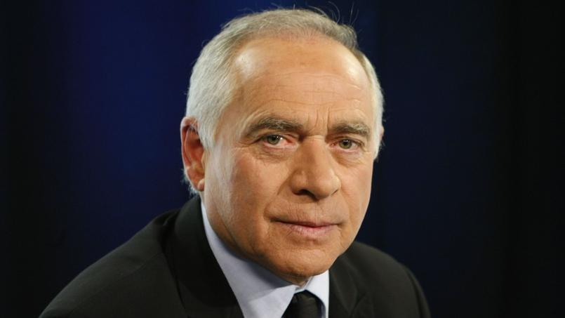 François Patriat dans le studio du Figaro, le 24 mars 2010.