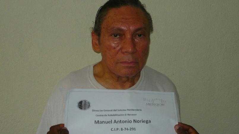 L'ex-dictateur Noriega dans un état
