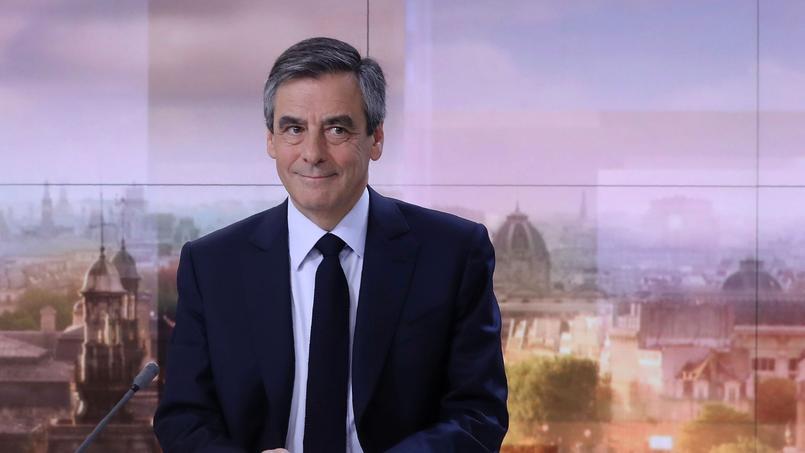 François Fillon lors de sa dernière intervention télévisée, sur France 2, le 5 mars 2017.