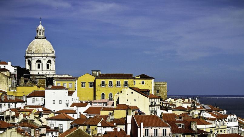 Un vieux quartier de Lisbonne.