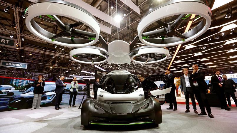La voiture volante d'Airbus et Italdesign