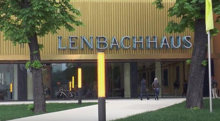 Le musée Lenbachhaus, consacré au mouvement du Cavalier Bleu, à Munich.
