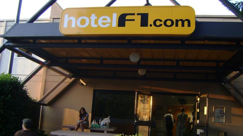 Hotel F1 à Annemasse, Haute-Savoie, France.
