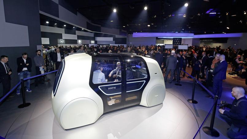 Acronyme de Self Driving Car, le concept Sedric est une voiture 100 % autonome et électrique.