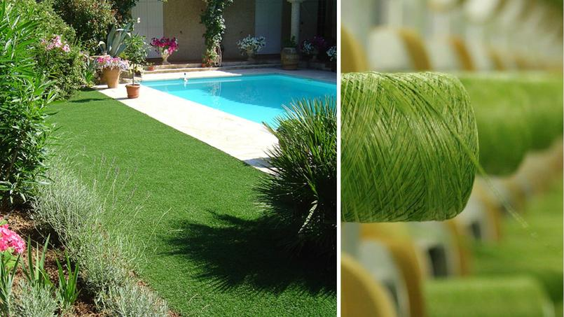 Jardin du gazon synth tique aussi vrai que nature - A poil dans son jardin ...