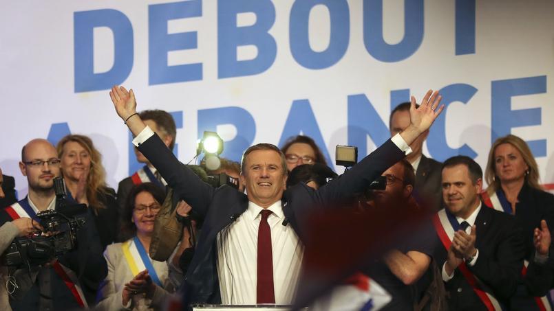 Nicolas Dupont-Aignan, candidat à la présidentielle