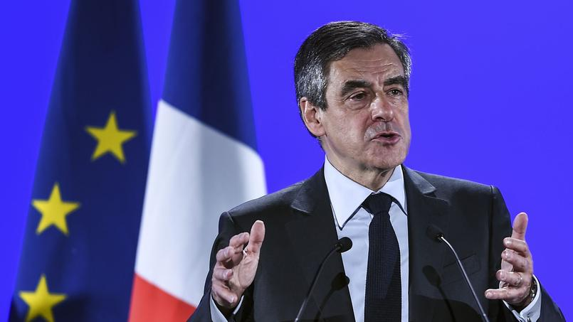 François Fillon à Besançon, le 9 mars 2017.