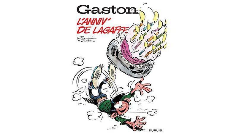 Gaston fait une remontée spectaculaire dans le classement des meilleures ventes de bandes dessinées, cette semaine.