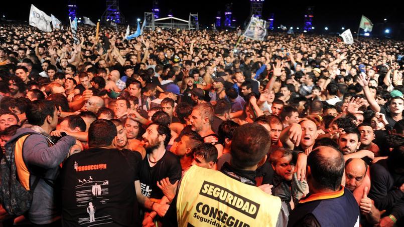 Argentine : une bousculade monstre à un concert de rock fait deux morts