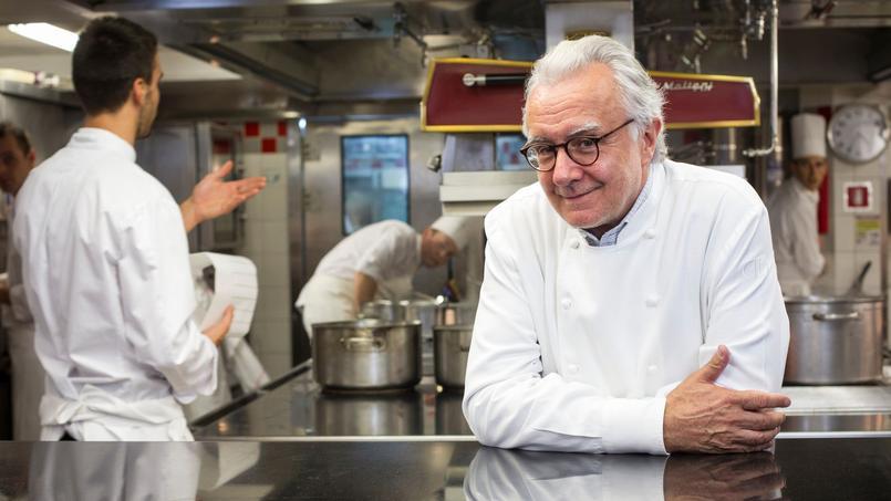 Alain Ducasse, grand cuisinier et génial entrepreneur. Il a imaginé «Goût de France» avec l'appui du ministère des Affaires étrangères. Un énorme travail, mais quel succès!