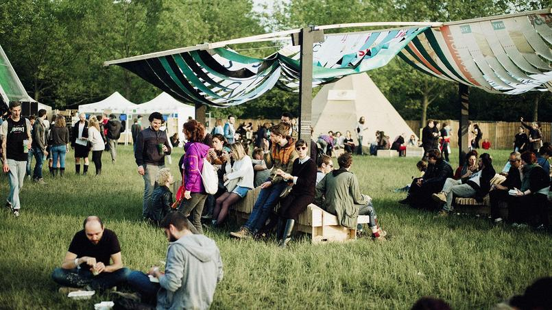 Le festival We Love Green au bois de Vincennes.