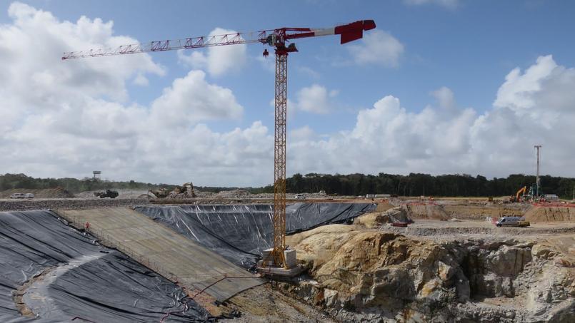 Le chantier du pas de tir d'Ariane 6 avance à grands pas