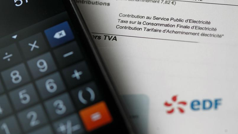 Un foyer s'acquitte en moyenne de 800 euros par an pour ses dépenses d'électricité.