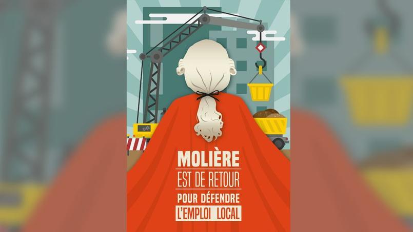 Visuel du site «Clausemolière.fr» qui sera mis en ligne mardi après-midi.