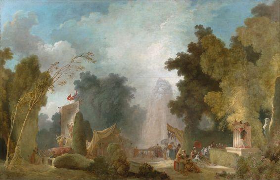 Le célèbre tableau «La fête à Saint-Cloud» de Jean-Honoré Fragonard (1732-1806) est l'un des clous de l'exposition.