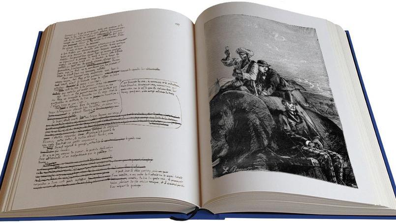 Spécialisé dans les fac-similés de manuscrits célèbres, numérotés à la main et en nombre limité, les éditions des Saint Pères publient le 20 mars celui du «Tour du Monde en 80 jours» que les spécialistes pensaient disparu.