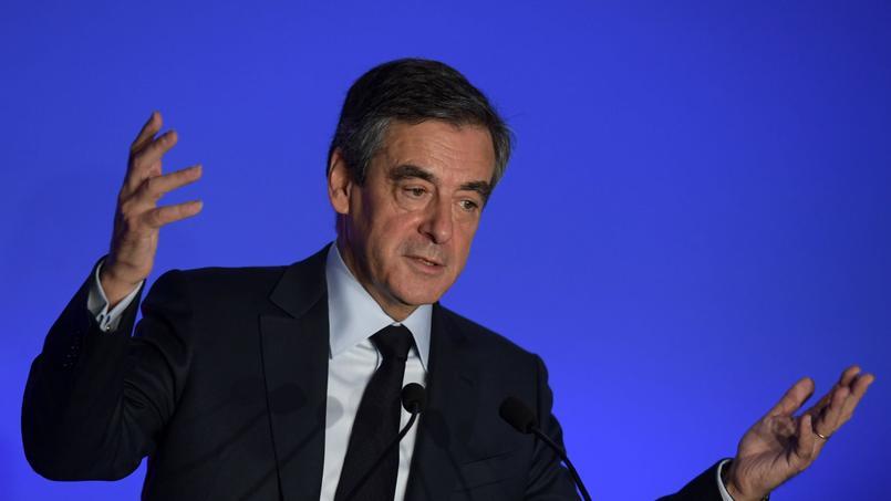 François Fillon, le 13 mars 2017.