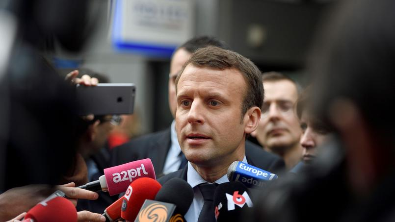 Macron et Le Pen bien installés en tête, devant Fillon — Sondage