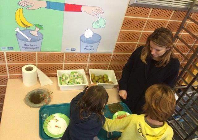 Une école de 300 élèves peut produire 600 m3 de biogaz.