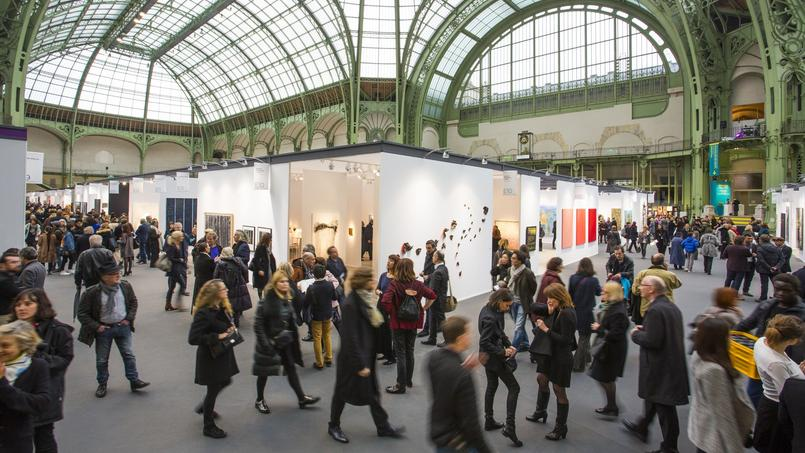 L'Art Paris Art Fair sous la nef du Grand Palais.