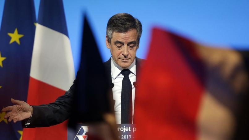 François Fillon, candidat LR