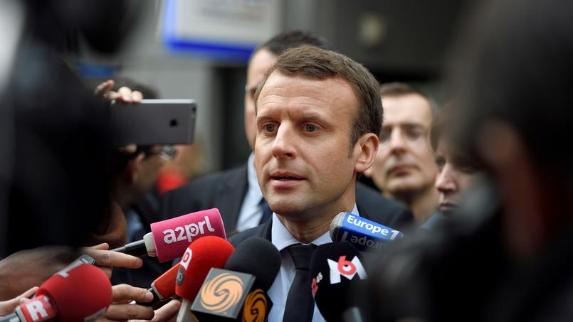 Emmanuel Macron ne veut pas faire de son parti «l'auberge de ceux qui ne se retrouvent pas dans François Fillon».
