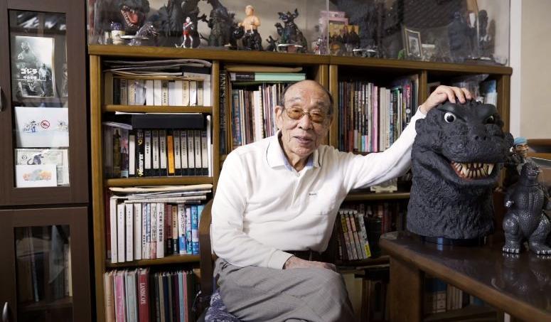 Haruo Nakajima a endossé à 12 reprises l'emblématique costume de Godzilla.
