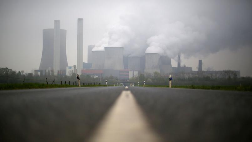 Une centrale à charbon en Allemagne, près de Niederaussem.