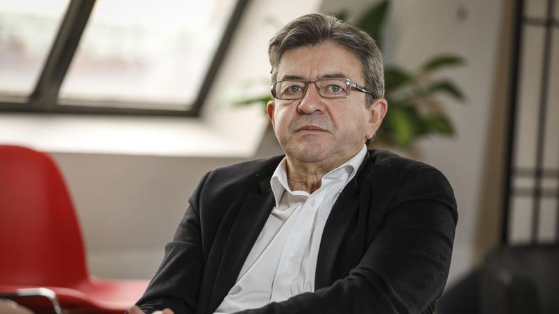 Jean-Luc Mélenchon et Jean-Jacques Bourdin, le 17 mars