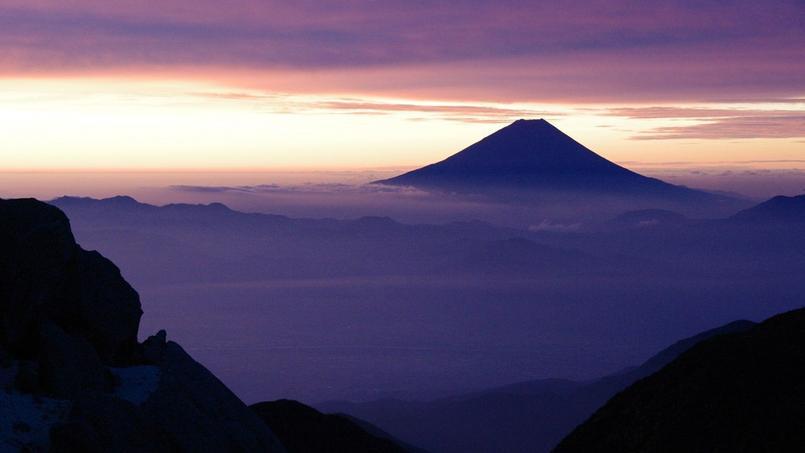 Le mont Fuji, au Japon: le pays est un des stars du salon cette année.