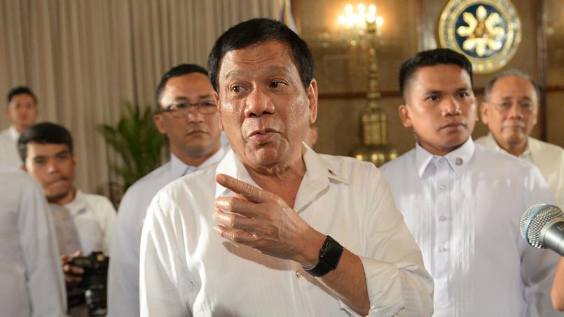 Le président philippin Rodrigo Duterte a été élu le 9 mai 2016.