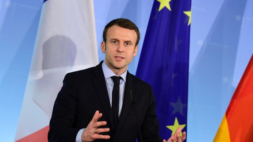 Emmanuel Macron candidat à la présidentielle
