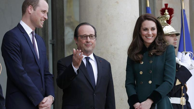 William et Kate: offensive de charme diplomatique à Paris