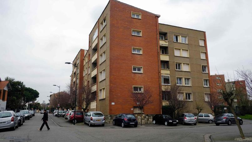 La résidence dans laquelle Mohamed Merah vivait, et où il a été abattu par les forces de l'ordre, le 22 mars 2012 à Toulouse.