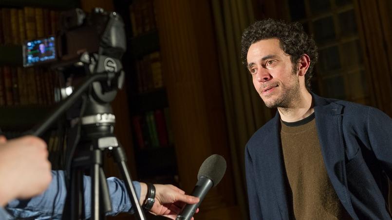 David Caviglioli a reçu le Prix Hennessy du Journalisme Littéraire 2017 jeudi 16 mars.