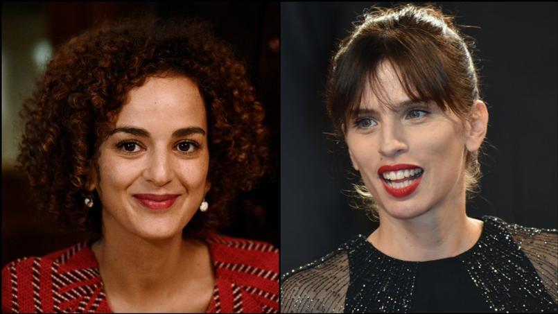 La romancière Leila Slimani (à gauche) souhaite adapter «Chanson douce» avec l'aide de la scénariste Maïwenn.