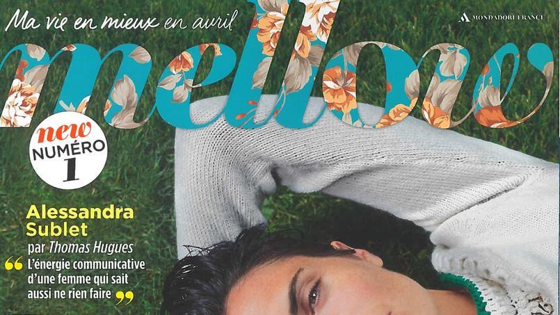 La couverture du premier numéro de «Mellow», en kiosque ce jeudi.