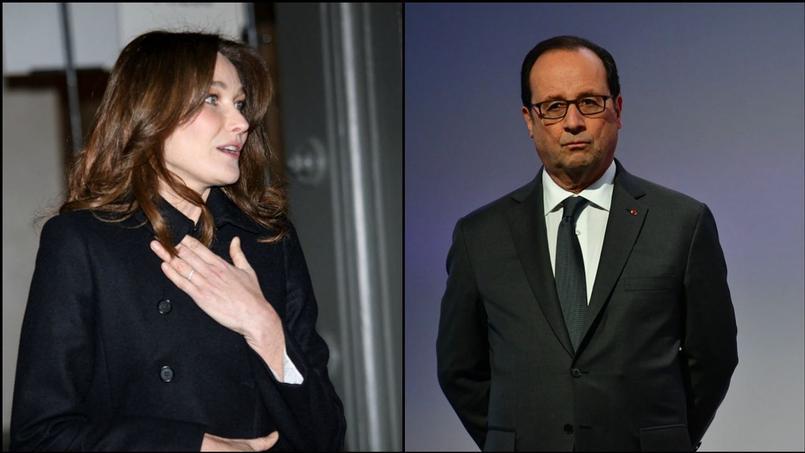 Carla Bruni et François Hollande n'en sont pas à leur premier échange tendu, les deux personnalités jouent au chat et à la souris depuis 2012.