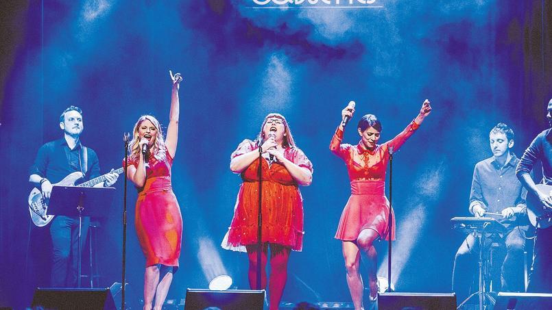 Le trio «Les Coquettes» sont de retour à l'Olympia.
