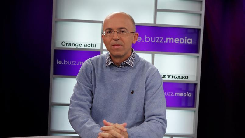 Pierre Chappaz, dans les bureaux du Figaro en 2012.