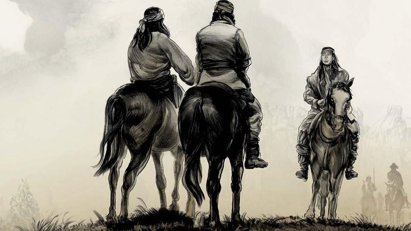 Ethan Hawke, scénariste d'«Indeh, une histoire des guerres apaches», s'est placé du point de vue des Amérindiens pour sa première expérience de scénariste de bande dessinée.