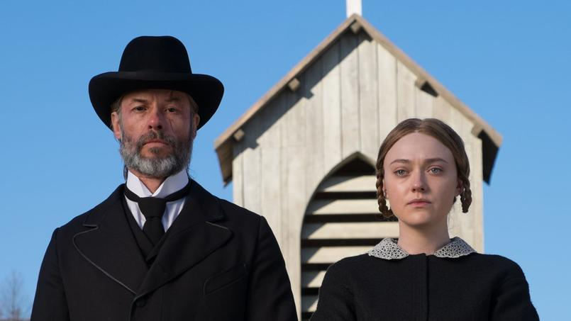 Guy Pearce et Dakota Fanning, interprètes exceptionnels d'un implacable western néerlandais.